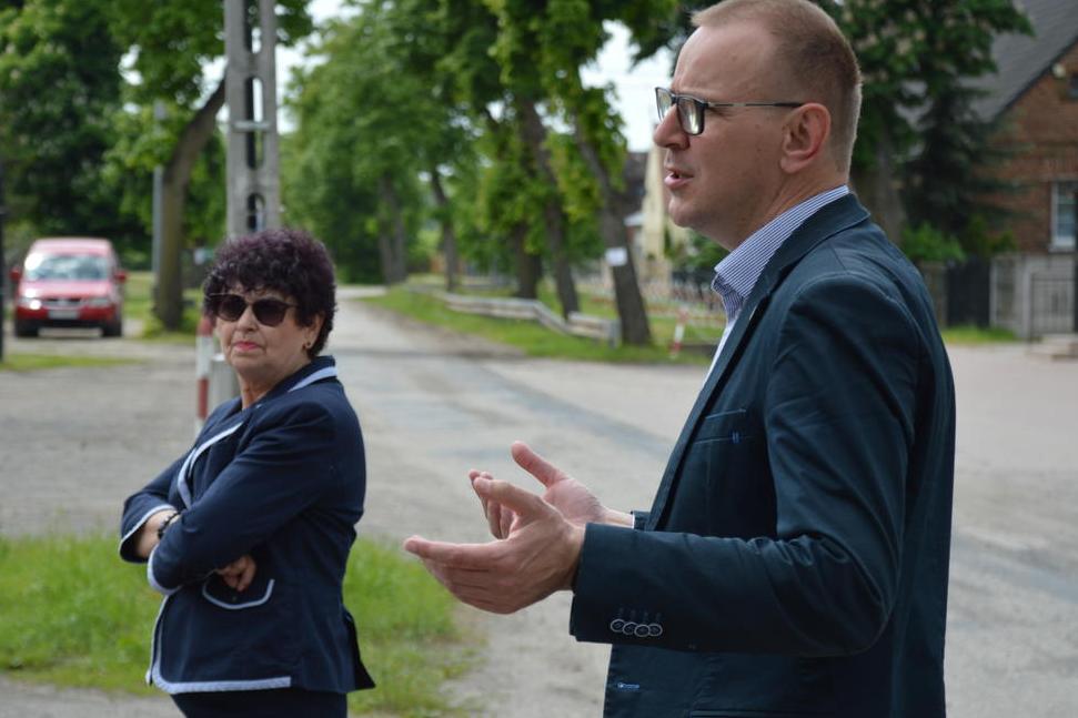 Ilustracja do informacji: Wizytacja dróg powiatowych