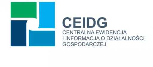 Baner: CEIDG logo