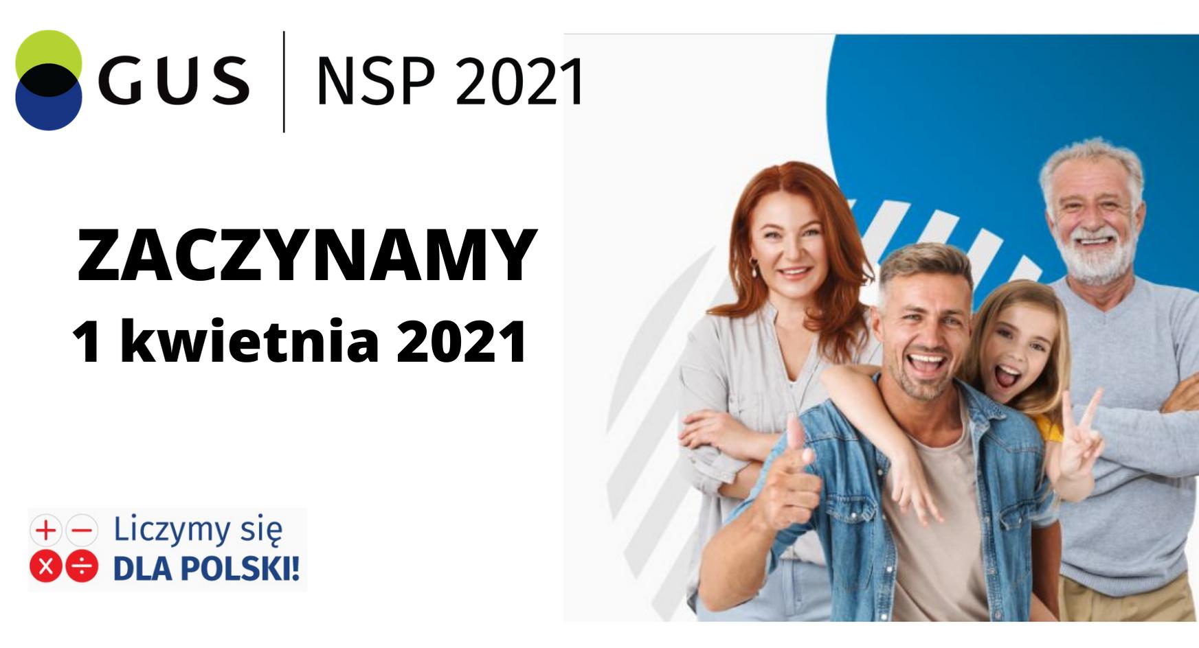 Ilustracja do informacji: Już 1 kwietnia zacznie się Narodowy Spis Powszechny Ludności i Mieszkań 2021!